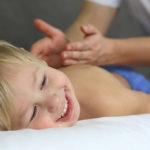 Массаж для ребенка: польза и вред