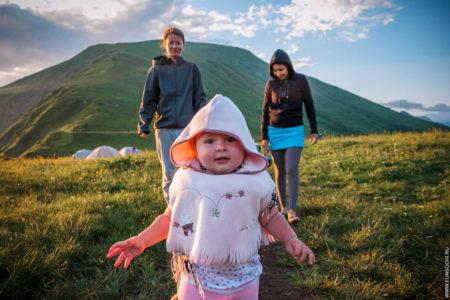 Поход с ребенком, с палатками, с ночевкой